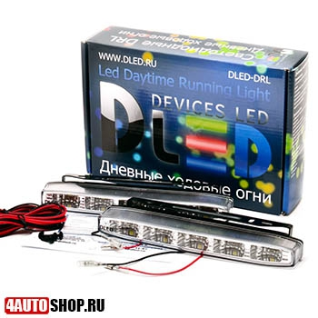 DLED ДХО Ходовые дневные огни DRL - 139 SMD5050 2x2.5W